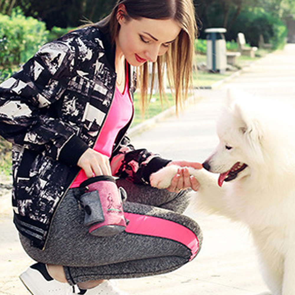 dog supplies Snack Bait Dog Outdoor Portable Training Snack Bag Pet Supplies Strong Wear Resistance  dog bell  dog collars-2
