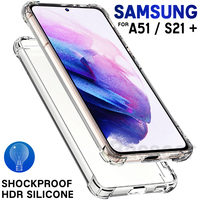 Luxury Silicone Clear Phone Case For Samsung Galaxy S21 S20 FE Note 20 Ultra S10 S9 S8 10 Plus A52 A51 A71 A12 Shockproof Cover