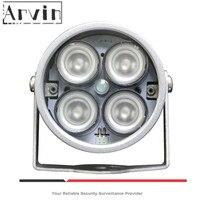 CCTV LEDS 4 matriz IR Led iluminador luz infrarrojo IR lámpara impermeable visión nocturna CCTV Luz de relleno para cámara CCTV cámara Ip