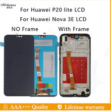 "For Huawei P20 Lite / Nova 3E LCD Display Touch Screen Digitizer Assembly Replacement Parts For P20 Lite Nova 3E 5.84"" LCDs(China)"