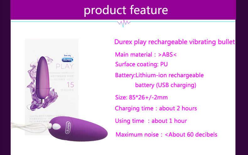 デュレックスプレイ充電式振動弾丸セックスバイブレーター大人のセックスのおもちゃバイブレーター g スポットバイブレーター充電バイブレーター
