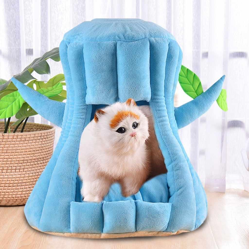 コージーペットベッド暖かい洞窟睡眠ベッド子犬ハウス猫や小型犬装飾販売アクセサリーツールホームドロップシッピング ch