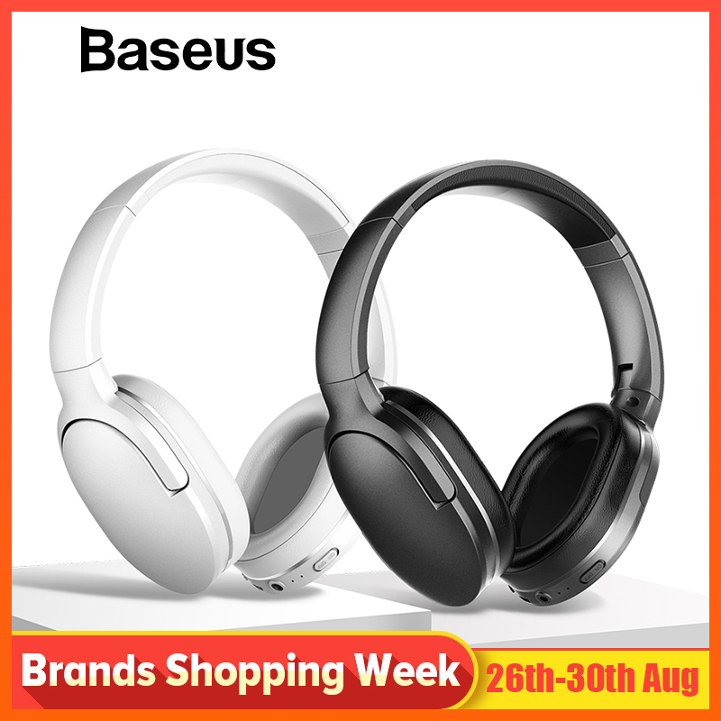 Baseus D02 Bluetooth Headphone Foldable bluetooth headset Wireless headphones Portable Bluetooth Earphone with Mic for Phone bangle