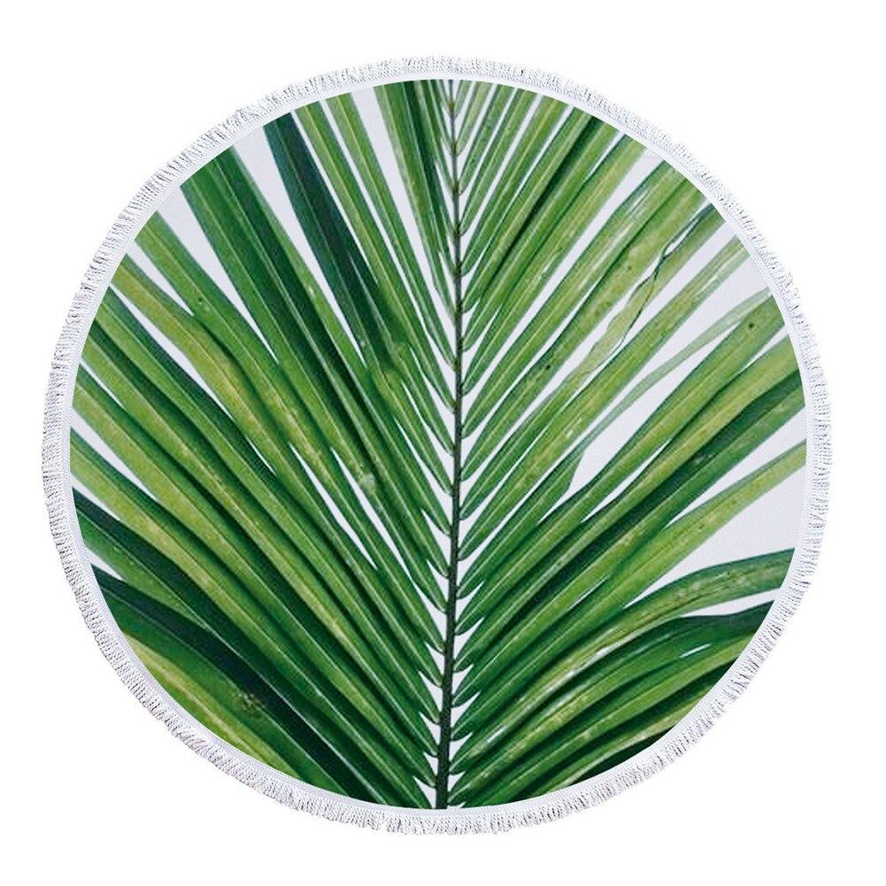 Viagem ao ar Toalha de Praia Microfibra Tassel Design Piquenique Cobertor Tapeçaria Colorido Livre Acampamento Esteira Redonda Verão Impressão Macia