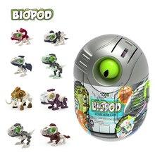 Biopod Splicing Dinosaur Jurassic Dino Eggs Surprise Random Easter Toy Inside Stocking Stuffers for Kids Birthday Gift
