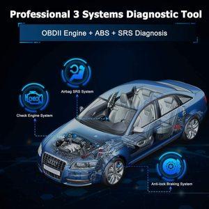 Image 2 - LAUNCH OBD 2 Car Scanner Automotive Tools Diagnostics Obd2 Scanner for Auto Tools Airbag Scan Engine Error Code Creader CR619