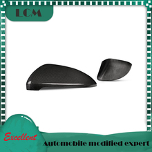 2013-2016 Add on or Replacement Style Carbon Fiber Mirror Cover For-Volkswagen Golf 7 MK7 R20 Gloss Black