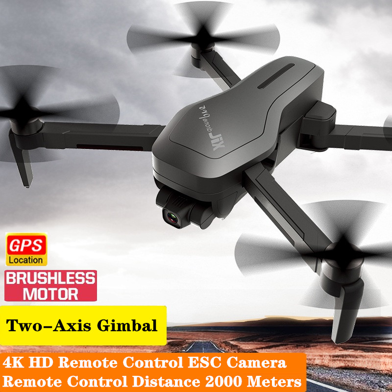 New X193 PRO GPS Drone with Two-axis Gimbal Brushless Motor R/C Distance 2000 Meters quadcopter RC Helicopter Professional Drone