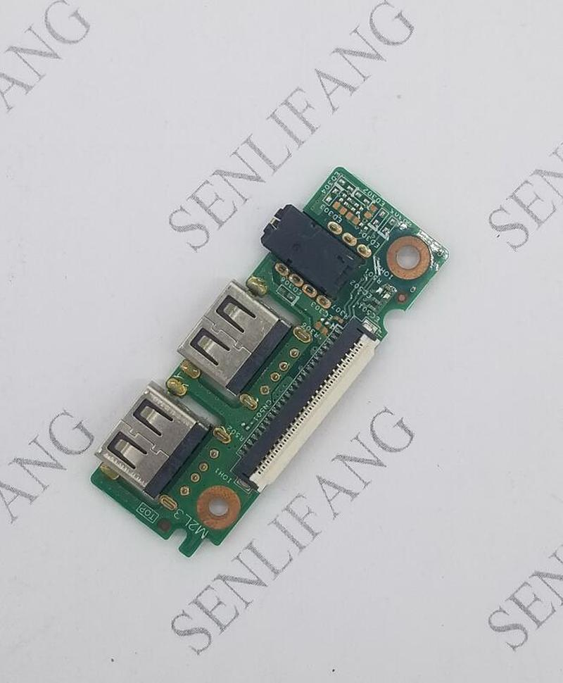 Original 3551 Laptop USB Audio IO Board 0T94X4 T94X4 Iris IO Board 2MV5N Test Good Free Shipping