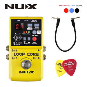 Image 1 - NUX Loop Core, Guitar Effect Pedal, Looper, 6 Hours Recording Time, 99 User Memories, Drum Patterns with TAP Tempo with gift
