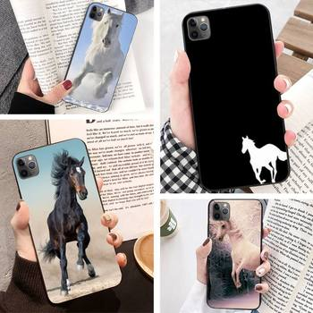 Classic Horse Mercedes Phone Case For Iphone 11 Pro Max 8 7 6 6S Plus Xr Xsmax X Xs Se Phone Case Back Cover image