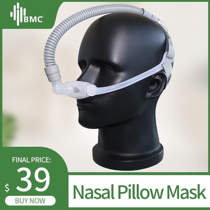 bmc wnp nasal pillow cpap mask silicone