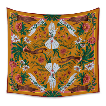 Trippy Mandala Floral Wall Hanging Tapestry Bohemian Tapestries Witchcraft Hand Hippie Dorm Boho Home Decor Wall Carpet Blanket 1ps bohemia mandala blankets tapestry elephant wall hanging wandbehang gobelin blanket dorm home decor mantas mandalas