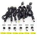 Штекерный разъем USB типа A для DC 5 в 2,0*0,6 мм 2,5*0,7 мм 3,5*1,35 мм 4,0*1,7 мм 5,5*2,1 мм 5,5*2,5 мм штекерный разъем для кабеля питания