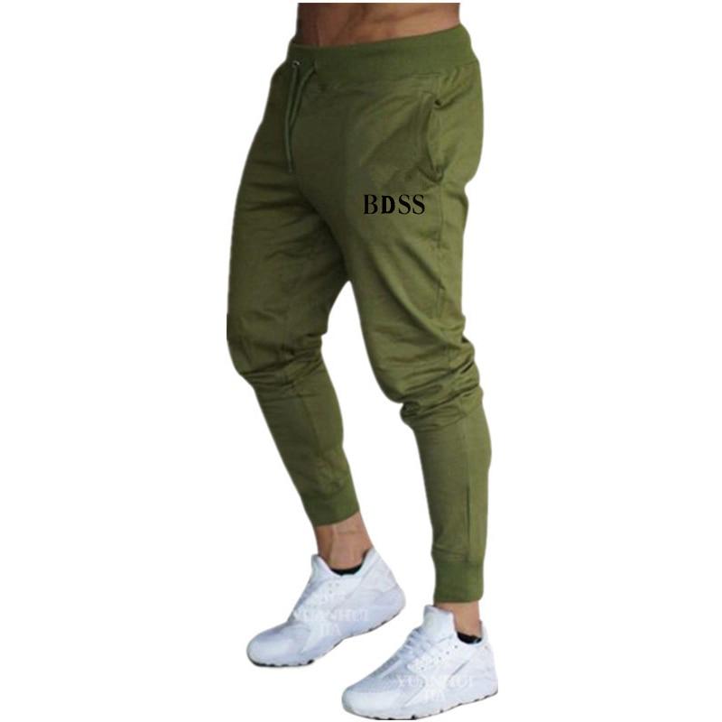 2020 spring and autumn men's jogging pants jogging training elastic pants fitness jogging pants leisure Hip Hop Pants