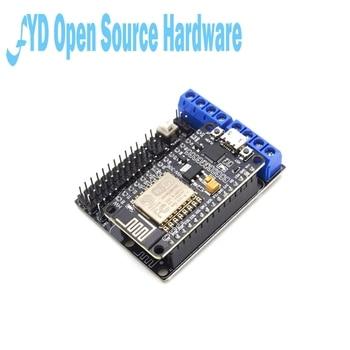 1 шт. L293D щит для платы двигателя Беспроводной Wi-Fi Esp8266 Esp-12E подходит для Node MCU Development Kit NodeMCU Rc игрушка дистанционное управление умный автомобиль IoT