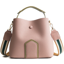 MONNET CAUTHY Autumn New Female Totes Concise Leisure Fashion Handbag Solid Color Pink Green Yellow Khaki Black Crossbody Bags