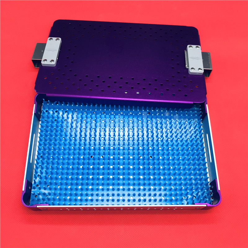 High Quality Ophthalmic Microsurgical Instruments Surgical Autoclavable Surgery Silicone Disinfecting Box