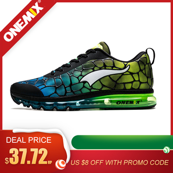 ONEMIX Running Shoes For Men Breathable Outdoor Sport Sneakers Lightweight Athletic Jogging Walking Shoes Size 39-47 Sneakers onemix men running shoes breathable mesh sports sneakers women athletic walking shoes for outdoor jogging footwear size eu35 47