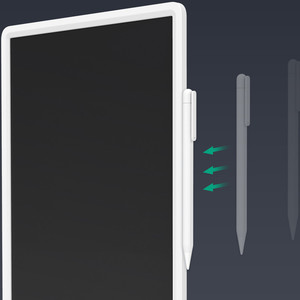 Image 4 - New Xiaomi Mijia LCD Writing Tablet with Pen Digital Drawing Electronic Handwriting Pad Message Graphics Board