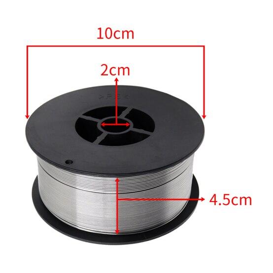 Carrete bobina alambre sin gas sin gas acero suave E71TGS.030/.040-diámetro