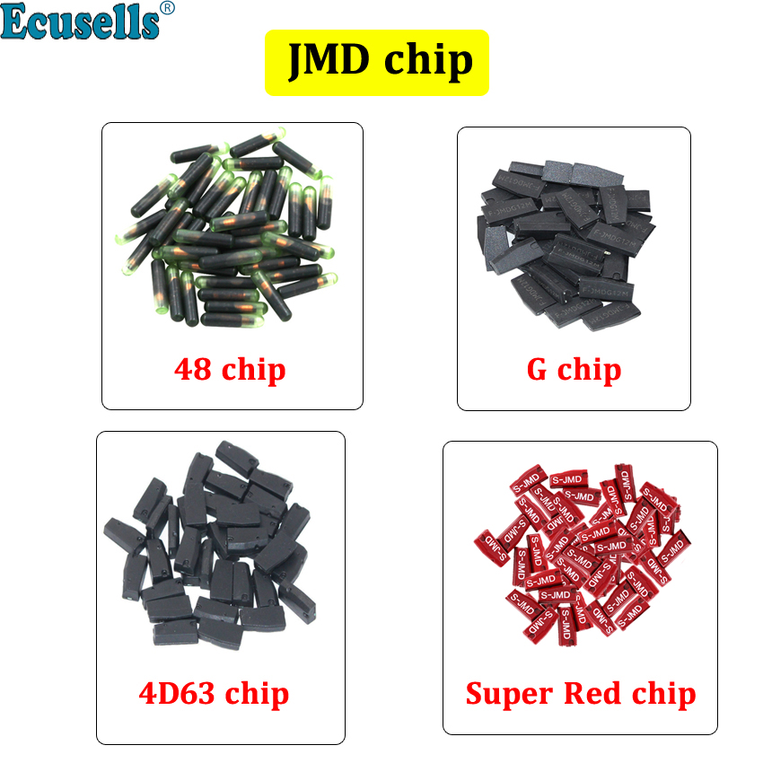 10pcs/lot ID48 48 4D63 G Super red Chip For CBAY Handy Baby Car Key Copy JMD Handy Baby Auto Key Programmer HANDY BABY II