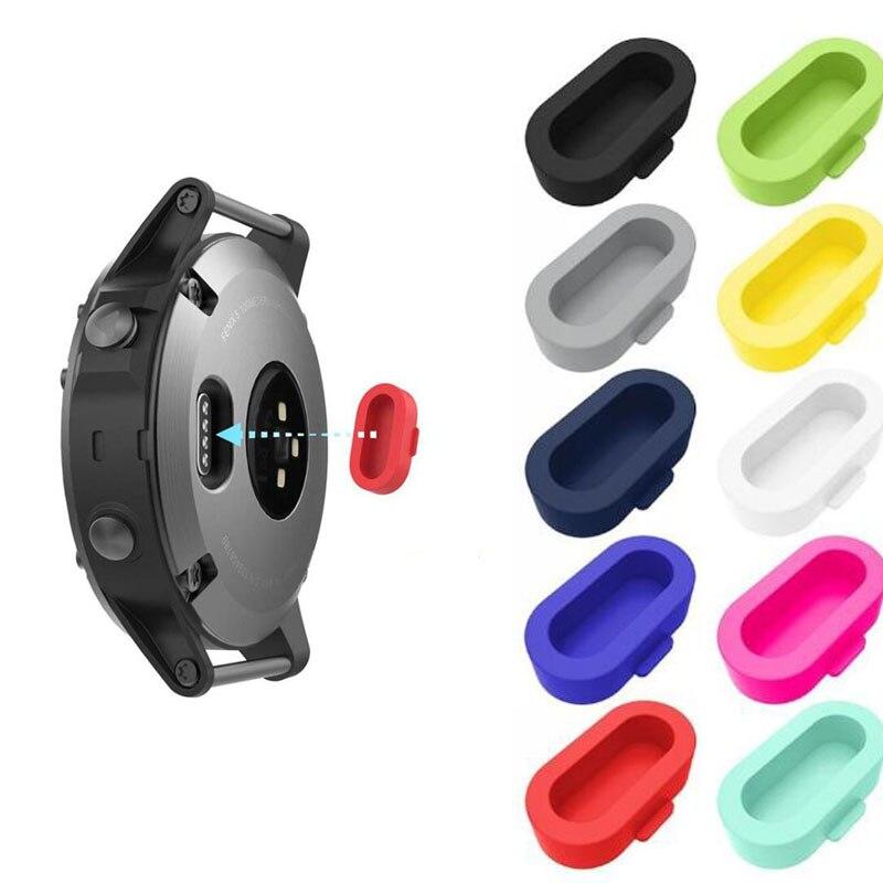 Charger Protective Plug Cover Cap Protector Case For Garmin Fenix 5/5S/5X Plus 6/6S/6X Pro Venu Vivoactive 4S/4/3 945 935 245 45
