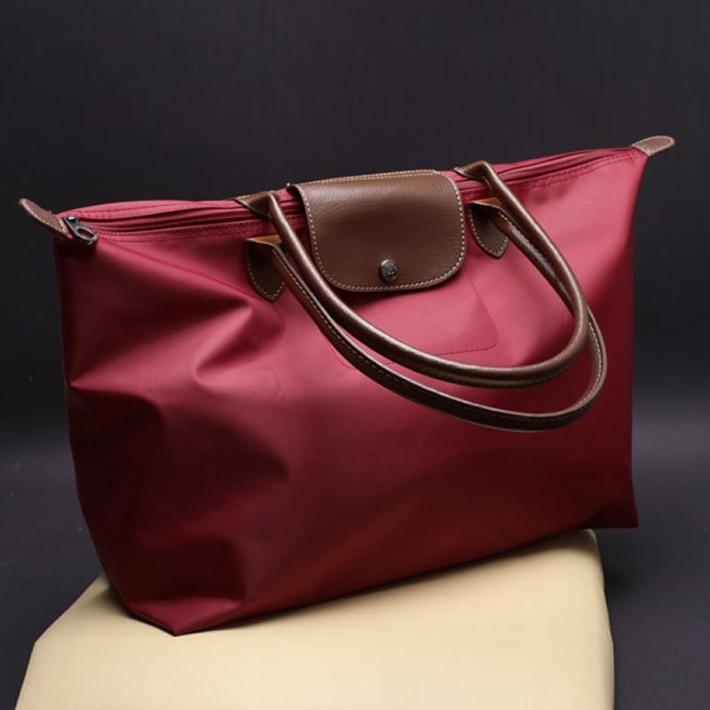 Oxford Cloth Dumplings Bag Shoulder Bag Big Bag Handbag Nylon Female Bag Cloth Bag Shopping Bag Travel Bag