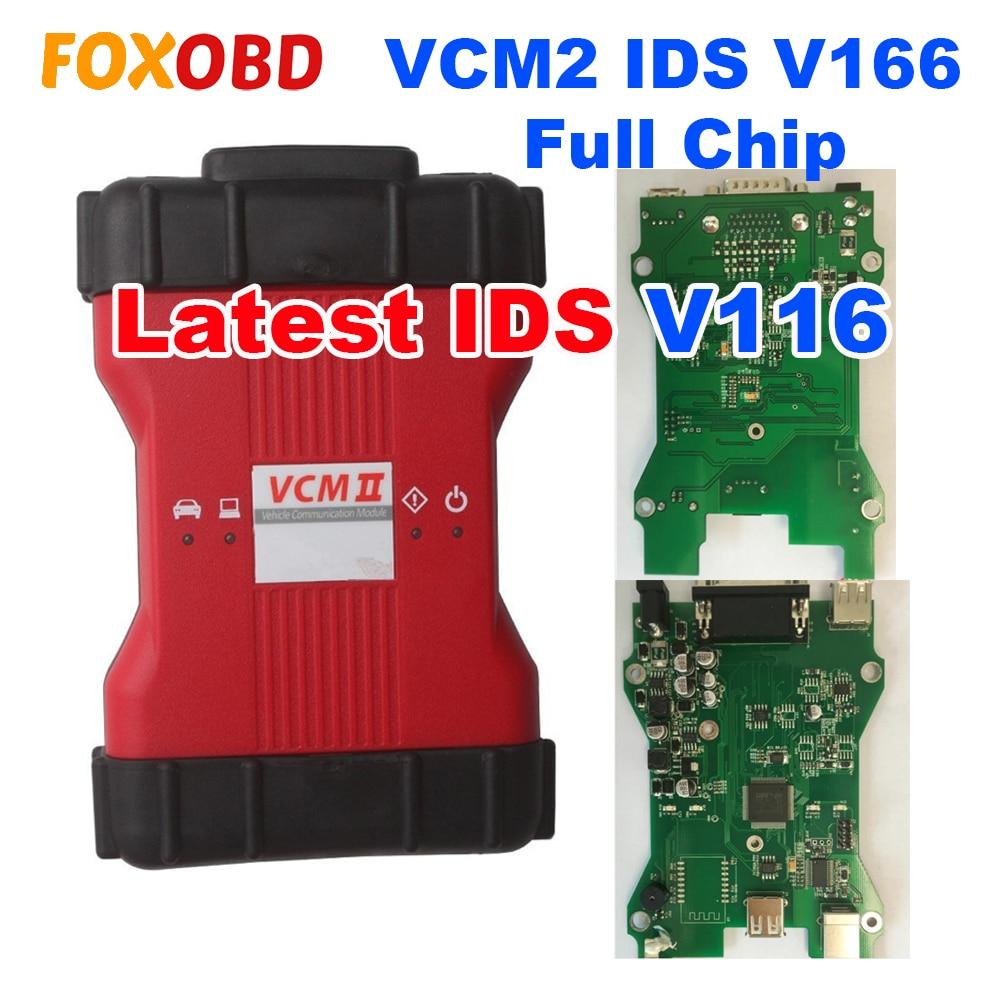 VCM II VCM2 IDS V116 Full Chip Vehicles Scanner For Ford VCM2 IDS V116 Mazda VCM2 IDS V116 Diagnostic Tool 2in1 Better V115 V114