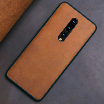 Genuine leather Phone Case For Oneplus 8 pro 7 7T Pro 6 6T Cowhide case for 1+ 7PRO 7t Crazy horse skin Back cover - discount item  20% OFF Mobile Phone Accessories