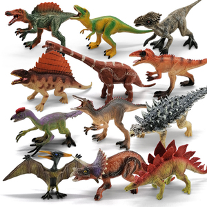 Jurassic Dinosaur Toy Model Brachiosaurus Tyrannosaurus Rex Dinosaur Collection Animal Collection Model Toy Children's Gift