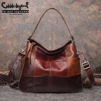 Cobbler Legend Brand Genuine Leather Women Bucket Bag Style Pocket Casual Handbag Shoulder Crossbody Large Capacity Purse 2019