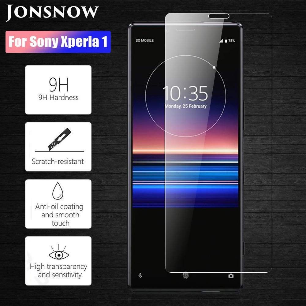 JONSNOW Tempered Glass For Sony Xperia 1 J8110 J8170 J9110 6.5