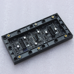 Image 2 - P2.5 LED screen panel module 160*80mm 64*32 pixels 1/16 Scan 3in1 SMD P2.5 Indoor Full color LED display panel module