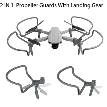 Propeller Guards with Heightening Landing Gears Propellers Protector Shielding Rings For DJI Mavic Air 2 Drone Accessories
