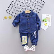 2019 Spring Baby Girls Boys Clothing Sets Infant Clothes denim Suits Cotton coats jeans Pants 2pcs/set casual Kids Costume sets футболка классическая printio штурмовик dark side