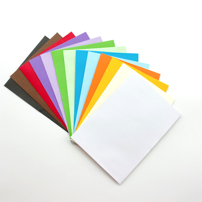 100pcs/lot Colorful Envelope Paper Envelope Party Wedding Invitation Envelope Stationery