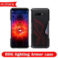 2020 New Asus ROG Lighting Armor Case Protective Case Shell Accessories Cover Glare Light for Asus ROG Phone 3 Gaming Phone 5G