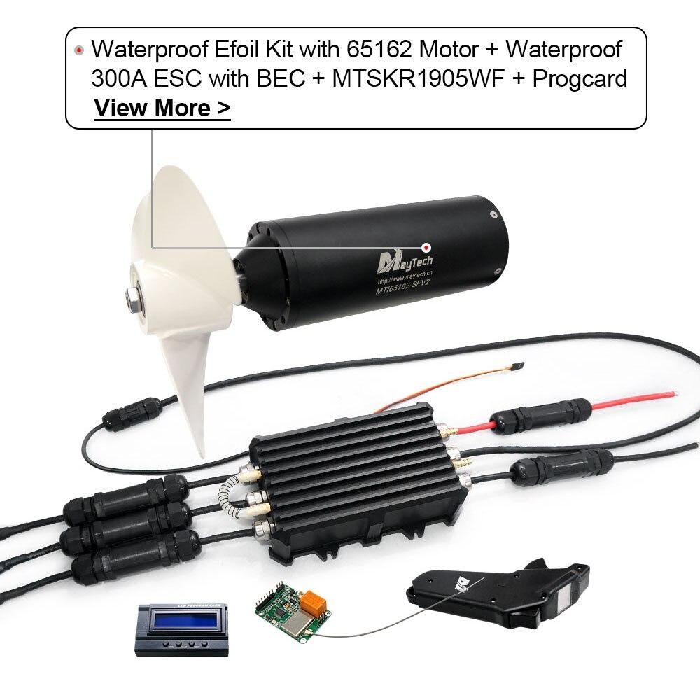 Maytech prancha elétrica watercooled 120116 18.8kw inrunner
