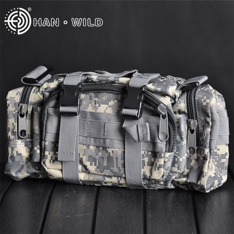Outdoor Multi Purpose Outdoor Wallet 3P Commando Pack 3P Wallet Camouflage Bag Multi-functional Magic Bag Rides Luggage Multi-co