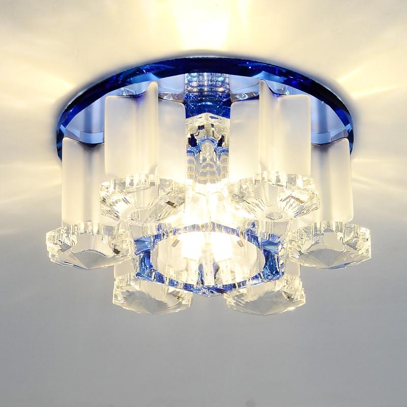 luminaria led de cristal para teto moderna vintage lampada para teto sala de estar para quarto
