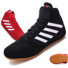 Weightlift-Shoes Boxing-Wrestling Fighting Training-Boxing Professional Men Breathable