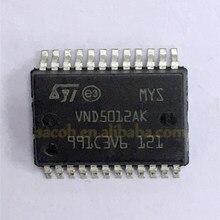 5 Pçs/lote Novo Original VND5012AKTR-E VND5012AK-E VND5012AK VND5004DSP30-E VND5004CSP30-E VND5004ASP30-E VND5004A-E SSOP-24 ALTA