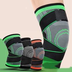 1 Paar Mannen Vrouwen Knie Ondersteuning Compressie Mouwen Gewrichtspijn Artritis Opluchting Running Fitness Elastische Wrap Brace Knie Pads Met