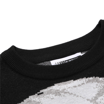 Mens Hip Hop Streetwear Harajuku Sweater Vintage Retro Japanese Style Anime Girl Knitted Sweater 2020 Autumn Cotton Pullover 4