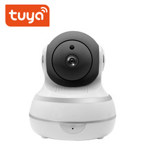 Auto Tracking 1080P PTZ Two Way Audio Tuya Wireless WiFi IP Security Camera Smart Life Camera Products APP Remote Control Tuya(China)