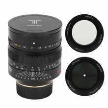 TTartisan 50mm F0.95 objectif de caméra pour Leica M monture caméra plein cadre mise au point manuelle grande ouverture pour Leica M9 M10 50/0.95