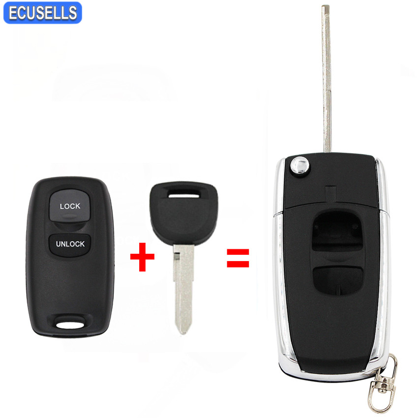 2 New Smart Prox Replacement Remote Key Keyless Case Shell Housing For Toyota