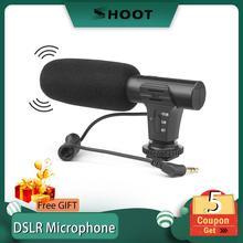 撮影ステレオビデオカメラマイク一眼レフ用カメラコンピュータ携帯電話 pc マイク xiaomi 8 iphone × 三星