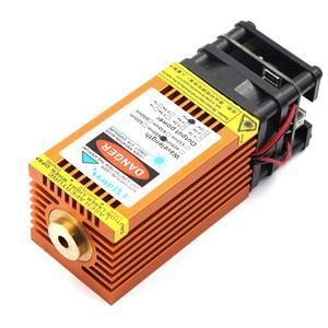 Image 5 - Oxlasers yeni 12V 2.5W 3.5W 4W 5.5W 15W 450nm mavi lazer modülleri turuncu renkli DIY gravür lazer kafası PWM